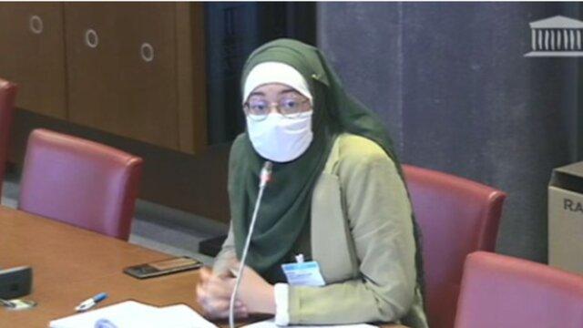 حجاب دانشجوی مراکشی الاصل جلسه پارلمان فرانسه را به هم ریخت