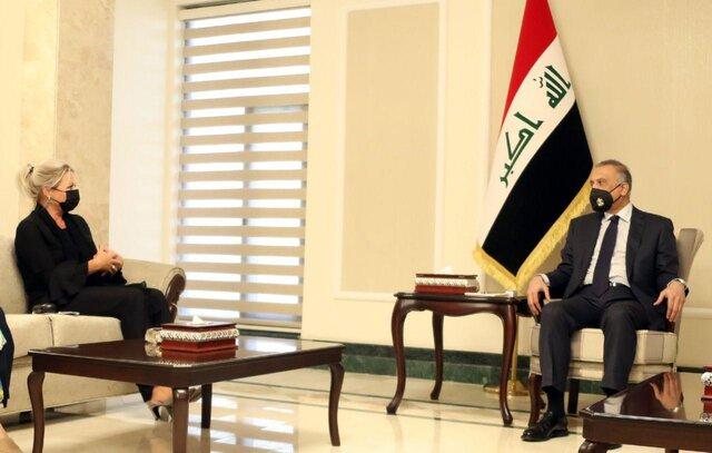 رایزنی الکاظمی و نماینده سازمان ملل درباره انتخابات زودهنگام عراق