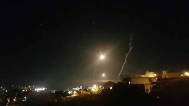 شلیک بمب نوری توسط رژیم صهیونیستی به جنوب لبنان