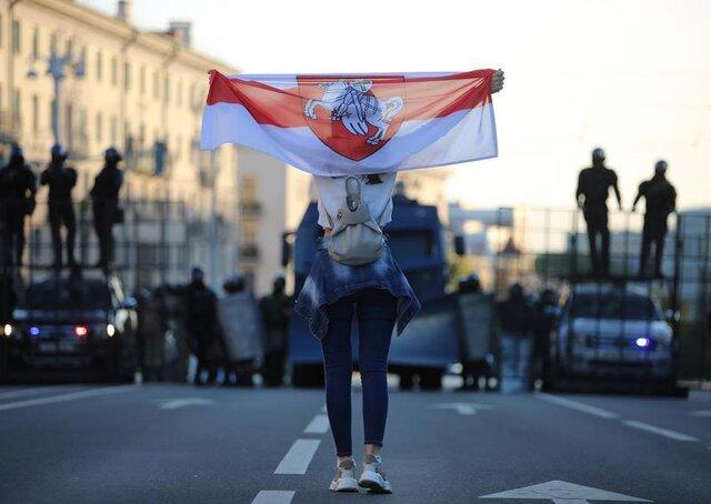 راهپیماییهای گسترده در بلاروس همچنان ادامه دارد