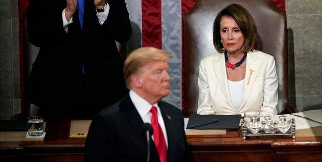 پلوسی: استیضاح ترامپ را رد نمیکنم
