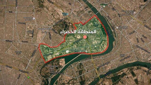 حمله به منطقه سبز بغداد