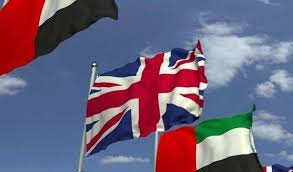 دیدار و رایزنی وزرای خارجه امارات و انگلیس