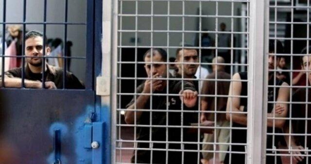 آغاز اقدامات اعتراضی اسرای فلسطینی در ۵ زندان اسرائیلی