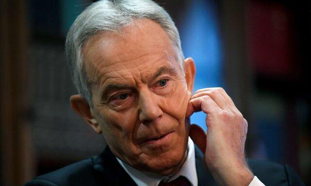"""بلر: روابط با اسرائیل، """"تنها"""" راه تشکیل کشور فلسطین است"""