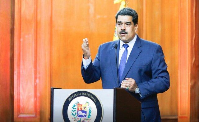 مادورو: همکاری نظامی خارجی همزمان با توسعه تسلیحات داخلی ادامه مییابد