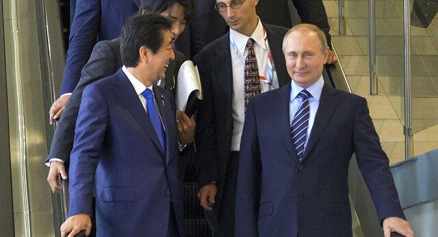 شینزو آبه: ژاپن و روسیه در پاییز ۲۰۱۸ به امضای پیمان صلح نزدیک بودند