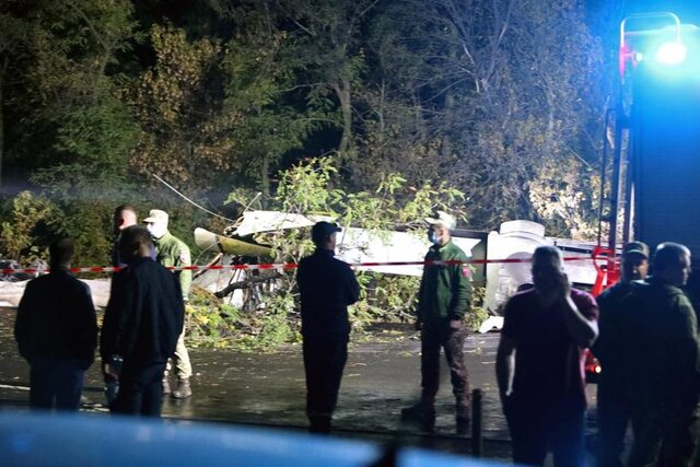 سقوط هواپیمای ترابری ارتش اوکراین