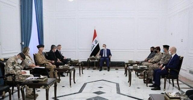 الکاظمی: امروز دولت عراق با چالشی جدی به نام سلاح بیضابطه روبهروست