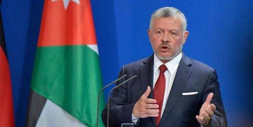 شاه اردن: تنها راه حل تشکیل کشور مستقل فلسطین است