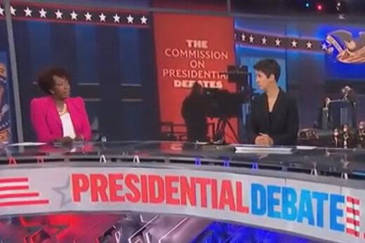 ببینید | انتقاد تند کارشناس شبکه MSNBC از اولین مناظره جنجالی ترامپ و بایدن