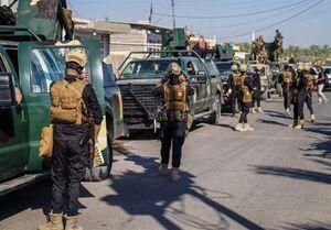 انهدام زرادخانه داعش در شرق عراق توسط حشد الشعبی
