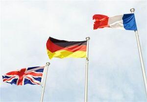 پیام سه کشور اروپایی به شورای امنیت درباره تعلیق تحریمهای ایران