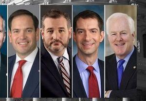 درخواست ۶ سناتور آمریکایی برای تحریم کل بخش مالی ایران