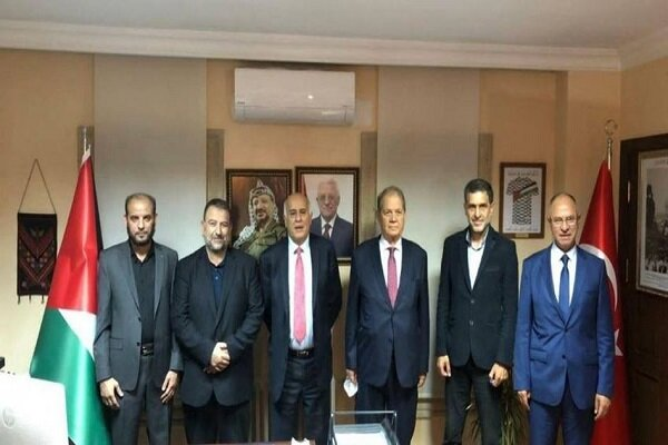 نتایج مذاکرات فتح و حماس در استانبول/اعلام توافق ملی تا ۱۰ مهر