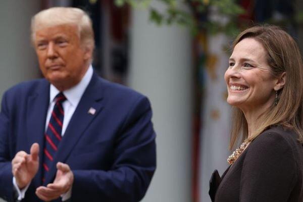 ترامپ قاضی «امی بارت» را برای تصدی کرسی دیوان عالی معرفی کرد