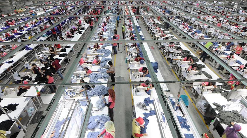 صادرات ۳۵ میلیون دلاری پوشاک به ۲۹ کشور جهان