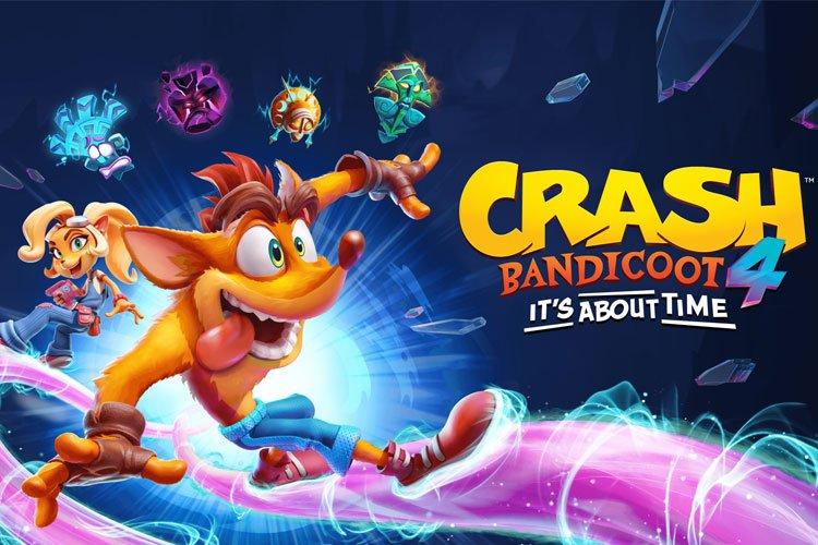 اولین ویدیو از بخش چند نفره بازی Crash Bandicoot 4: It's About Time منتشر شد