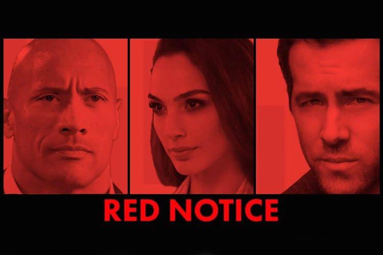 رایان رینولدز تصویر جدیدی از فیلم Red Notice را منتشر کرد