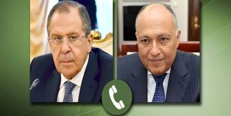 گفتوگوی تلفنی وزیران خارجه روسیه و مصر