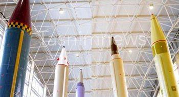عکس جالب از موشکهای بالستیک ایران با کلاهک بارانی