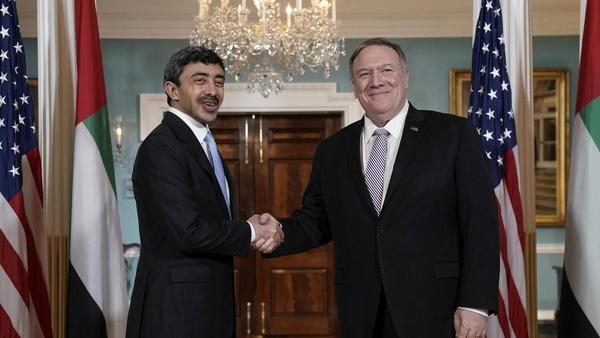 ادعاهای ضدایرانی پمپئو و بنزاید در آغاز گفتوگوی راهبردی امارات و آمریکا