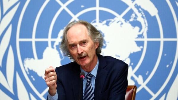 نماینده ویژه سازمان ملل وارد دمشق شد