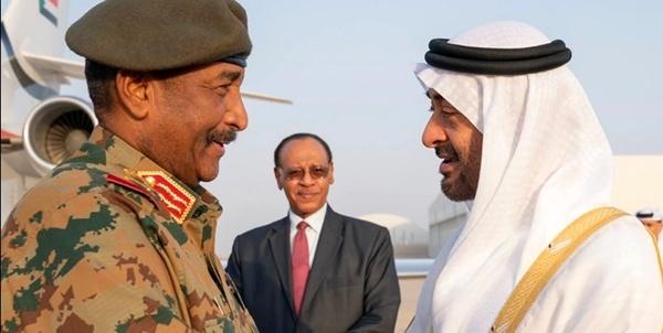 کمک مالی امارات به سودان