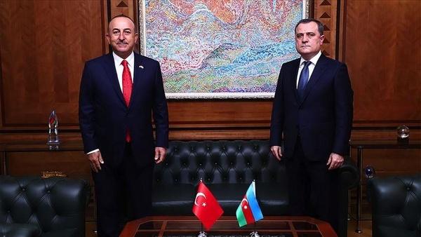 گفتوگوی تلفنی وزرای خارجه آذربایجان و ترکیه