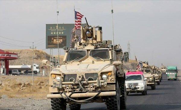 حمله راکتی به کاروان لجستیکی ائتلاف آمریکایی در عراق