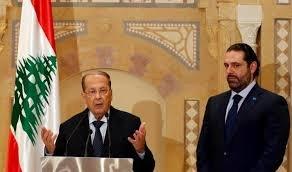 رئیسجمهوری لبنان و حریری دیدار کردند