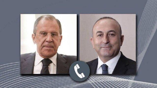 وزیران خارجه ترکیه و روسیه درباره قرهباغ، لیبی و سوریه رایزنی کردند