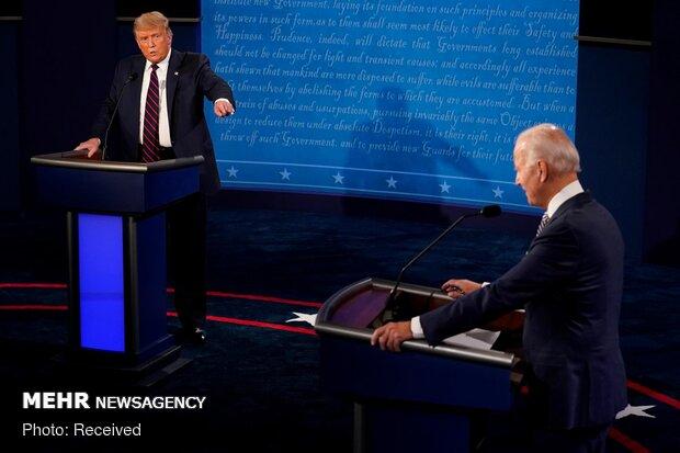 میکروفن «ترامپ» و «بایدن» در صورت ناسزاگویی قطع میشود