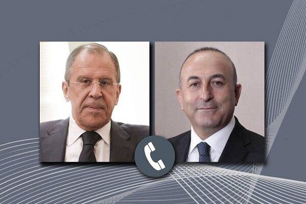 لاوروف و چاووشاوغلو درباره قرهباغ گفتگو کردند