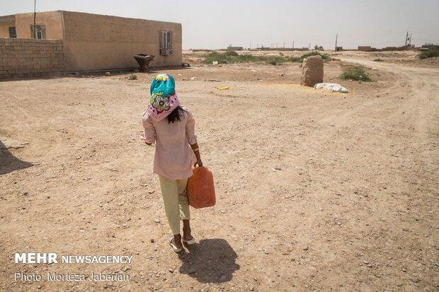کمبود آب و ترس از کرونا/ تشنگی در ۲۵ روستای شوشتر