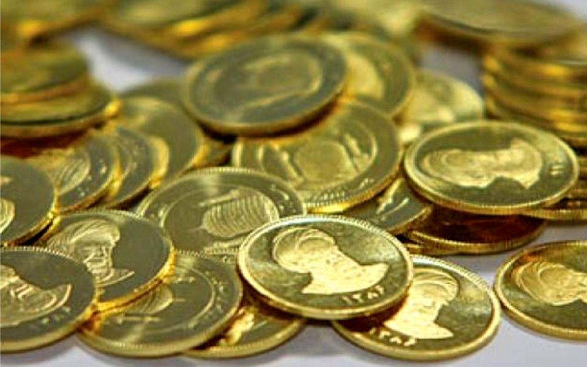 کاهش ۵۰۰ هزاری نرخ سکه در بازار آزاد تهران