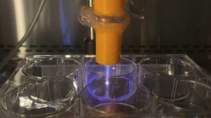 نابودی کرونا روی سطوح مختلف در مدت ۳۰ ثانیه با پلاسمای سرد اتمسفری