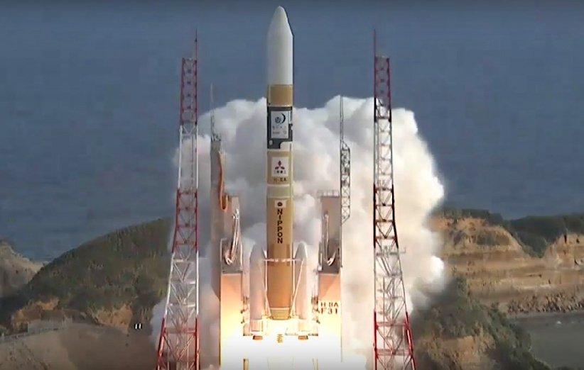ماهوارهی تقویت دادههای شناسایی علمی ژاپن با موفقیت در مدار قرار گرفت