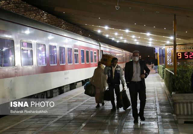 عدم فروش بلیت قطار به کروناییها