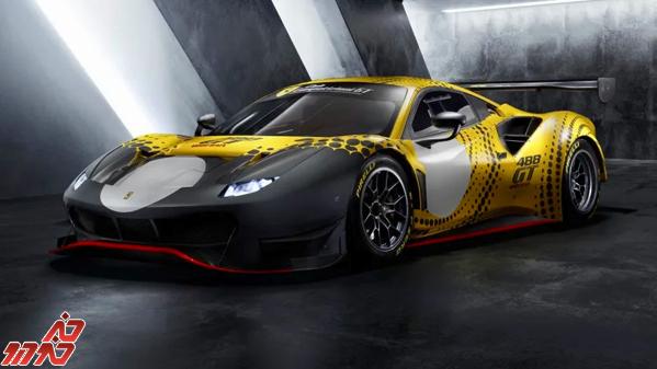 معرفی یک خودروی مسابقه ای جدید توسط فراری