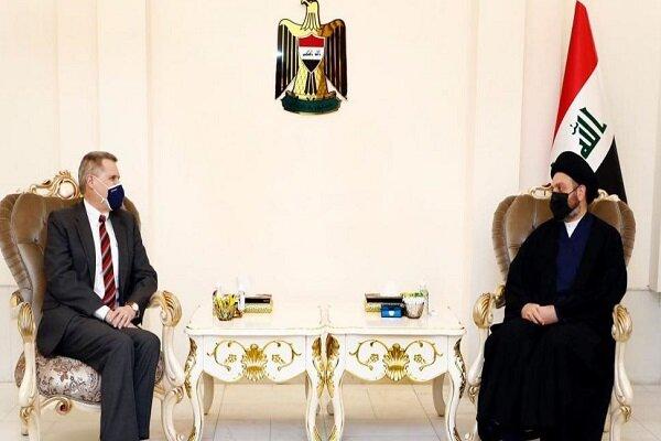 رایزنی عمار حکیم با سفیر آمریکا در عراق