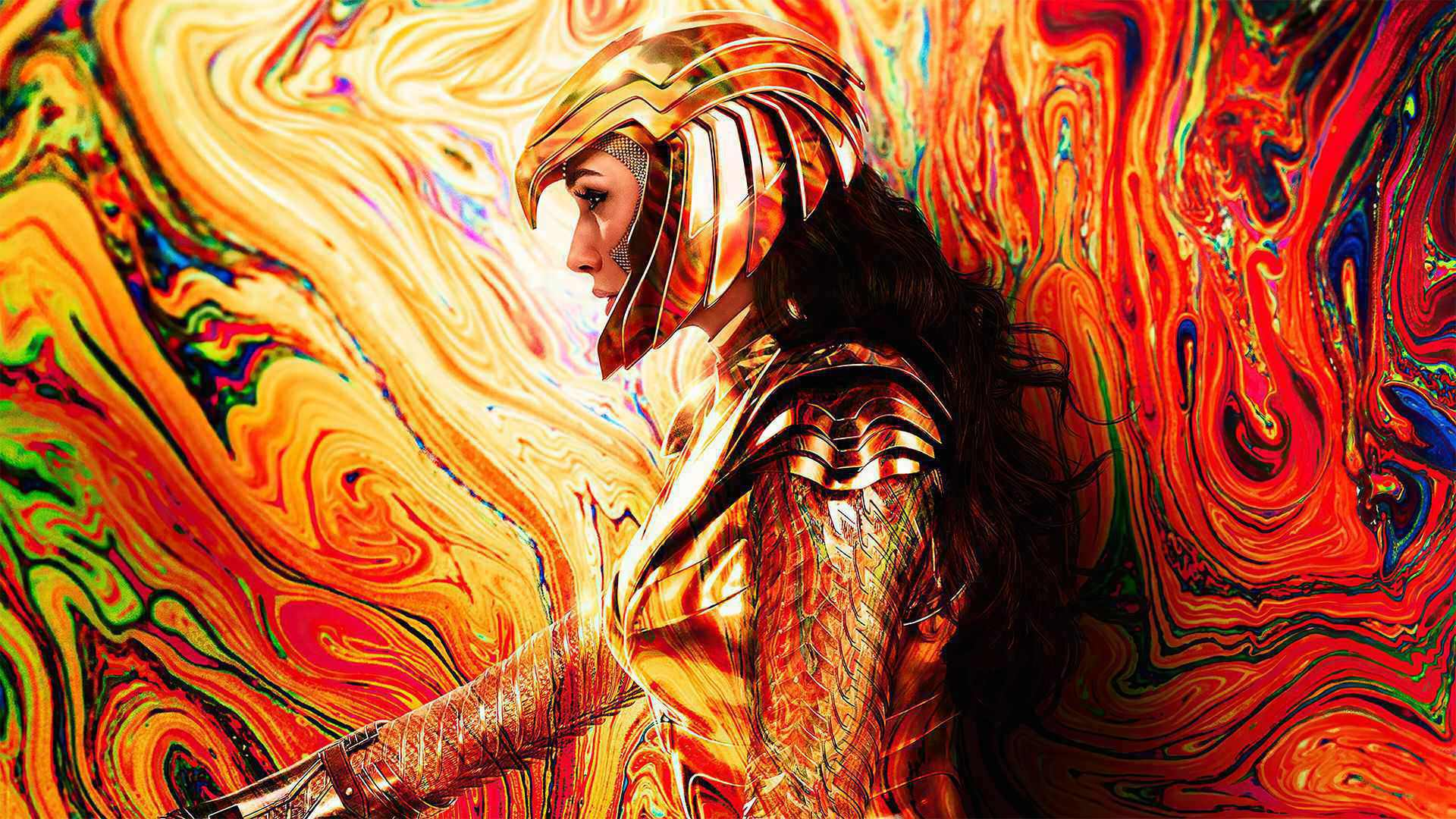 تصویر جدید فیلم Wonder Woman 1984 نمای بهتر از لباس عقاب طلایی را نشان میدهد