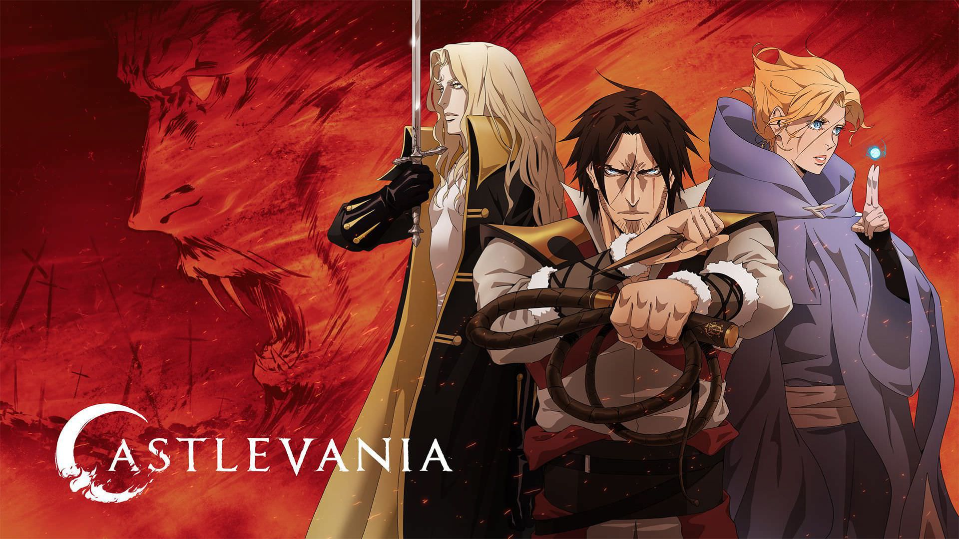 اولین تصاویر فصل چهارم سریال Castlevania بازگشت ترور و سایفا را نشان میدهد