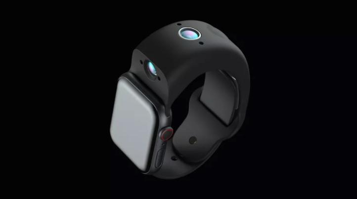 بند اپل واچ Wristcam با دوربین دوگانه و باتری داخلی معرفی شد