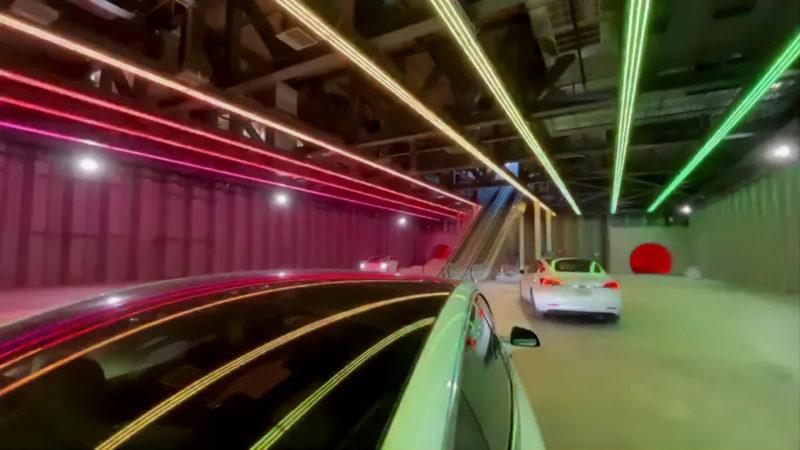 بورینگ کمپانی ایستگاه هایپرلوپ لاس وگاس را به نمایش کشید [تماشا کنید]