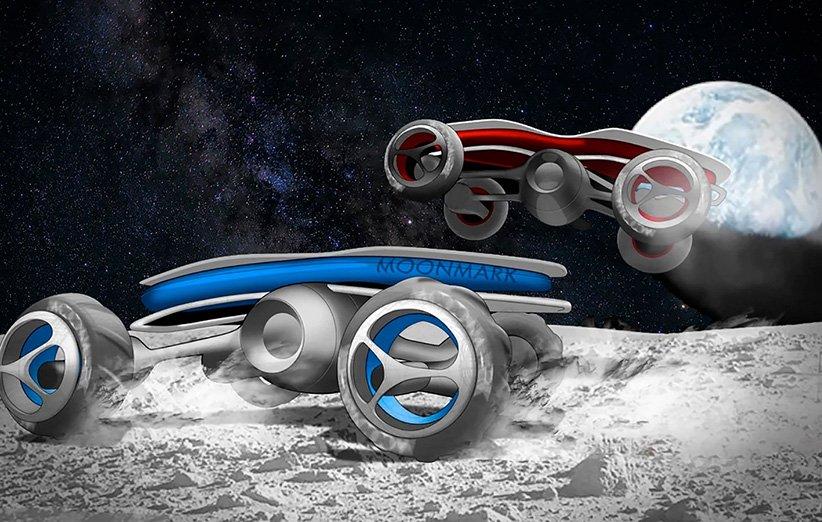 دانشآموزان با ماشینهای کنترلی در ماه به رقابت میپردازند