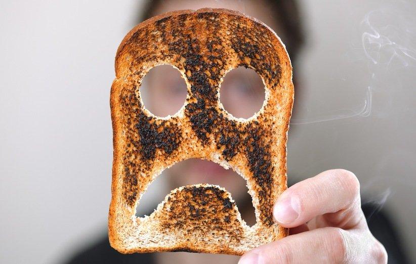 آیا مصرف غذای سوخته برای سلامتی بدن مضر است؟