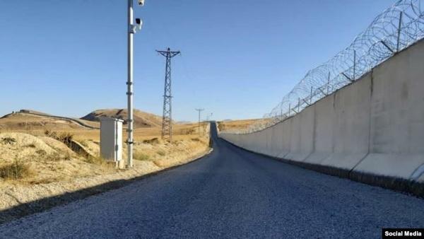 دیوار مرزی ۸۱ کیلومتری با ایران تکمیل شده است