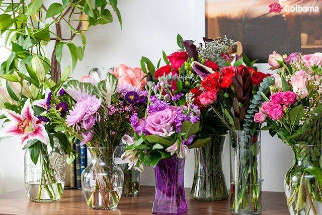 چه گلهایی بیشتر به هم میآیند؟