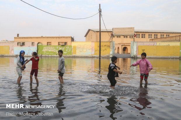 زیرساختهای اهواز مناسب بارشهای تغییر اقلیمی نیست